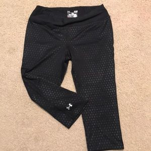 Under armour athletic capris